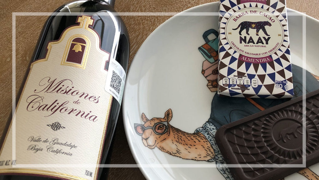 maridajes entre chocolate y vino
